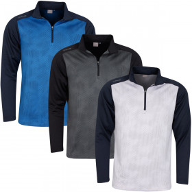 Ping Collection Mens 2020 Vertical 1/2 Zip Wicking Quick Dry Golf Sweater