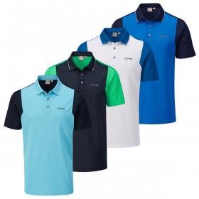Ping Collection Mens 2020 Vista Short Sleeve Wicking Golf Polo Shirt