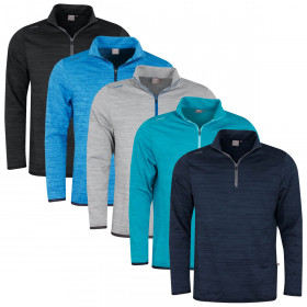 Ping Collection Mens 2020 Edison 1/2 Zip Thermal Water Resistant Golf Sweater