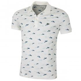 Lacoste Mens 2019 Pique Caviar Imprime Polo Shirt