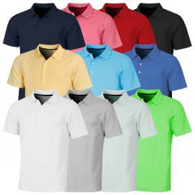 Proquip Mens 2021 Pro Tech Plain Soft Wicking Stretch UV Protect Polo Shirt