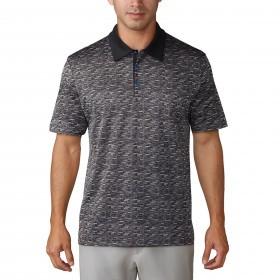 adidas Golf Mens Beyond 18 Knit Icon Polo Shirt