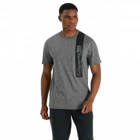 Canterbury Mens 2021 Organic Cotton Tee Ribbed Neckline Regular Fit T-Shirt