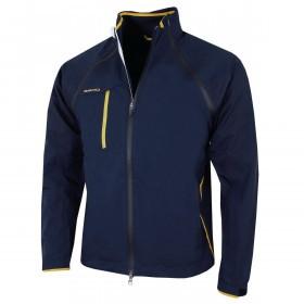 Zero Restriction Mens Pinnacle Traveler Lighweight Waterproof FZ Golf Jacket