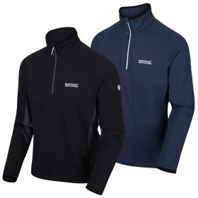 Regatta Mens 2020 Highton Half Zip Fleece Stretch Sweater