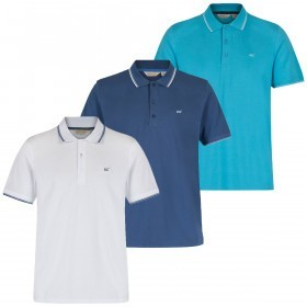 Regatta Mens Kaine Coolweave Dry Relaxed Fit Polo Shirt -