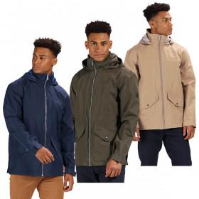 Regatta Mens 2020 Hartigan Durable Waterproof Full Zip Jacket