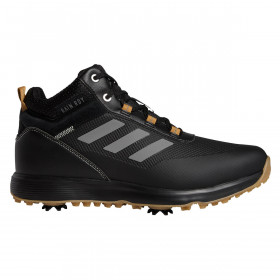 adidas Golf Mens 2021 S2G Mid Wide Fit Waterproof Spiked Recycled Golf Shoes