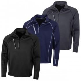 Sunice Mens Golf 2019 Alexander Technical Water Repellent Sweater