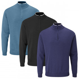 Stuburt Mens 2021 Arctic Thermal Breathable Windproof Lined Golf Sweater