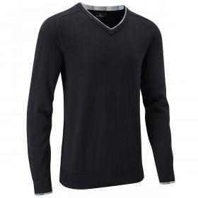 Stuburt Mens Vapour Casual V Neck Sweater - Black - M