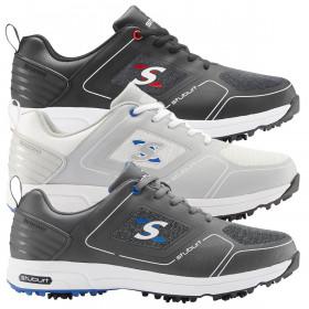 Stuburt Golf Mens 2021 XPII Spiked Synthetic Microfibre Waterproof Golf Shoes