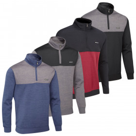 Stuburt Mens 2019 Pro Sport Performance 1/4 Zip Thermal Golf Pullover