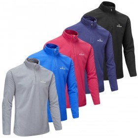 Stuburt Mens Urban Quarter Zip Fleece Golf Pullover