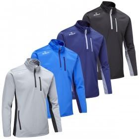 Stuburt Mens Endurance Sport Half Zip Fleece Golf Pullover