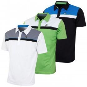Stuburt Mens Urban Casual Panel Golf Polo Shirt