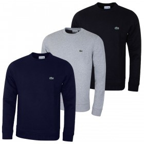 Lacoste Mens 2019 Classic Crew Neck Sweater