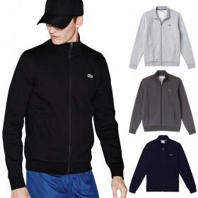 Lacoste Mens 2019 SH7616 Zip up Fleece Sweatshirt