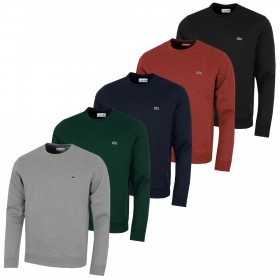 Lacoste Mens SH9203 Classic Brushed Sweatshirt