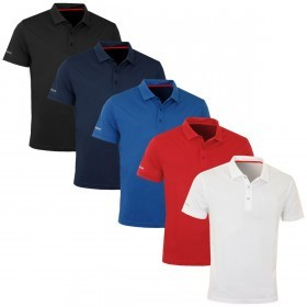 Sunice Mens Golf Rouen SS Core Polo Shirt