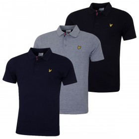 Lyle & Scott Mens 2019 Iconic Plain Polo Shirt