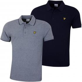 Lyle & Scott Mens 2019 Tipped Polo Shirt