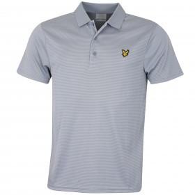 Lyle & Scott Mens Microstripe Polo Shirt