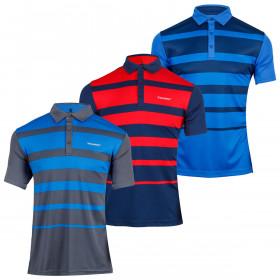 Stromberg Mens 2021 Strike Stretch Moisture Wicking Breathable Golf Polo Shirt