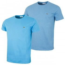 Lacoste Mens SS Crew Neck Pima Cotton T-Shirt