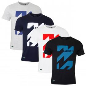 Lacoste Mens 2019 Tee Short Sleeve Seasonal T-Shirt