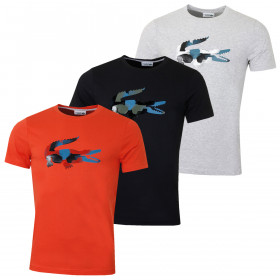 Lacoste Mens 2019 Tee Lifestyle Crew Neck T-Shirt