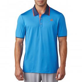 adidas Golf Mens Climacool Performance LC Logo Polo
