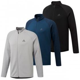 adidas Golf Mens Climawarm Full Zip Sweater