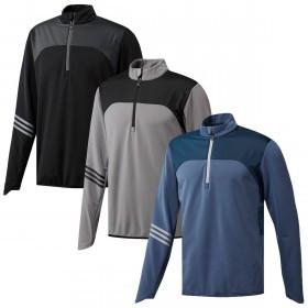 adidas Golf Mens Climaheat Frostguard 1/4 Zip Pullover