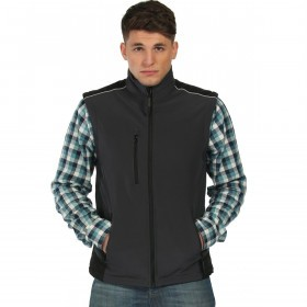 Regatta Mens Sandstorm Water Repellent Reflective Gilet
