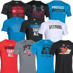 Under Armour Mens UA Shortsleeve Slogan Graphic T Shirt