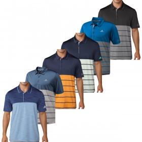 adidas Golf Mens Ultimate365 Heather Polo Shirt
