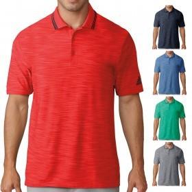 adidas Golf Mens Ultimate365 Textured Polo Shirt
