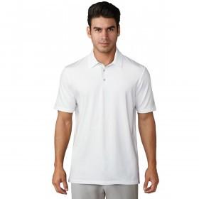 adidas Golf Mens Ultimate365 White Polo Shirt