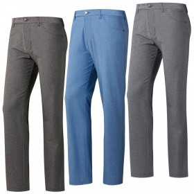 adidas Golf Mens 2019 Ultimate365 Heathered Five-Pocket Trousers