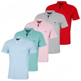 Wolsey Mens Temperature Regulating Pique Golf Polo Shirt
