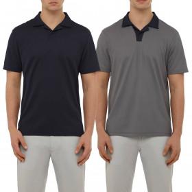 Wolsey Mens Johnny Collar Lightweight Breathable Golf Polo Shirt