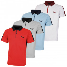 Wolsey Mens Colour Block Bonded Seam Quick Drying Golf Polo Shirt