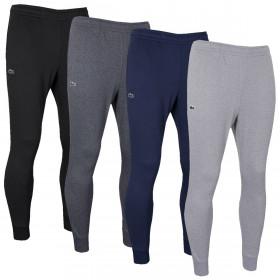 Lacoste Mens 2021 Tracksuit Bottom Fleece Classic Slim Fit Ribbed Sweatpants